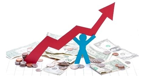 COVID financial graphic